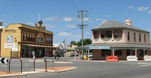 Longford - Browns big store and corner shop