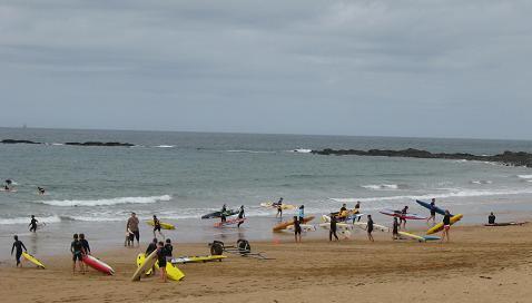 Burnie beach