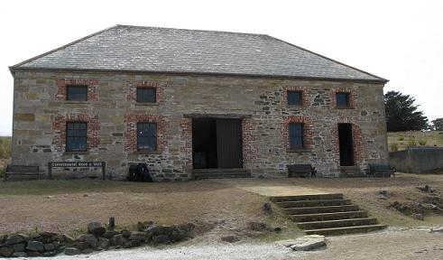 Maria Island - Commissariat building