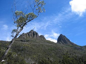 Cradle Mountain from below