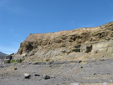 Maria Island - Fossil cliffs