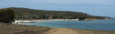 Maria Island - Hopground beach