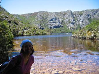 Cradle Mountain National Park lake