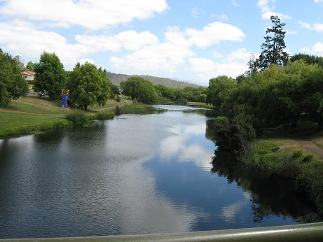 Meander river near Deloraine