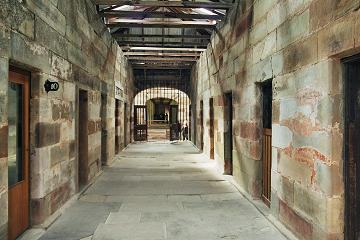 Port Arthur Historic Site - building corridor