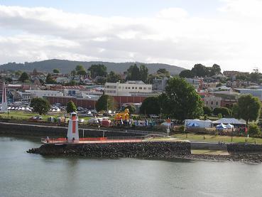 Spirit of Tasmania - arriving into Devonport