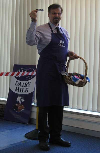 Cadbury chocolate factory talk