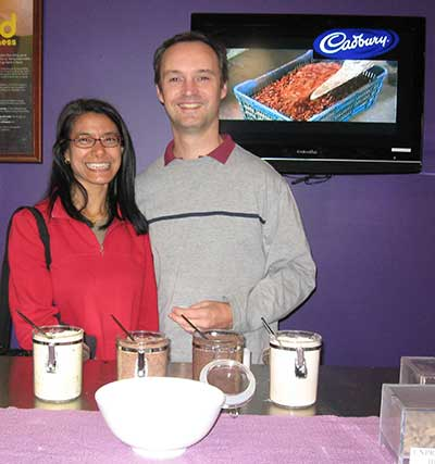 Cadbury chocolate tasting