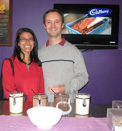 Cadbury chocolate tasting