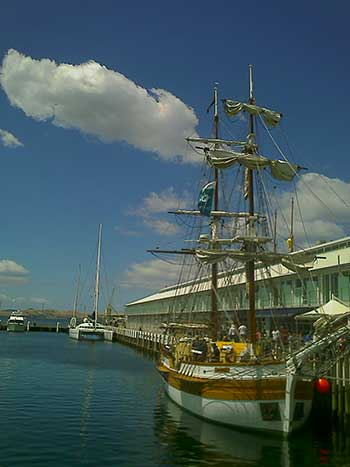 Elizabeth Street Pier Yacht