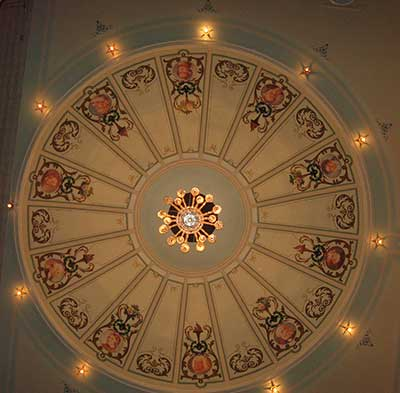 Hobart Theatre Royal ceiling