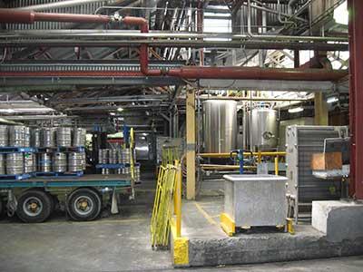 inside Cascade brewery