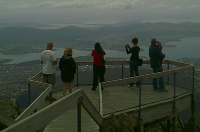 mount wellington viewing platform