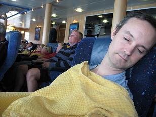 Spirit of Tasmania - Ocean View Recliner
