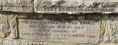 richmond bridge sign