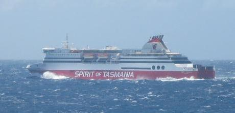 Spirit of Tasmania ship