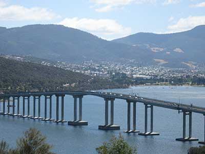 Tasman Bridge arch