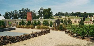 Port Arthur Historic Site - view from Memorial Garden