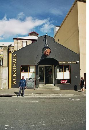 Hobart sausage shop