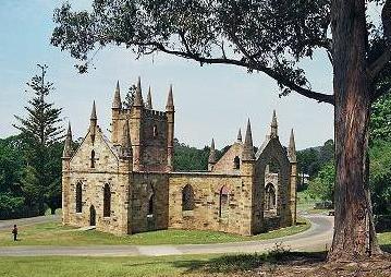 Port Arthur Historic Site church