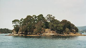 Port Arthur harbour island