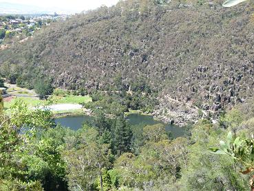 Launceston - view from Eagle Eyrie lookout